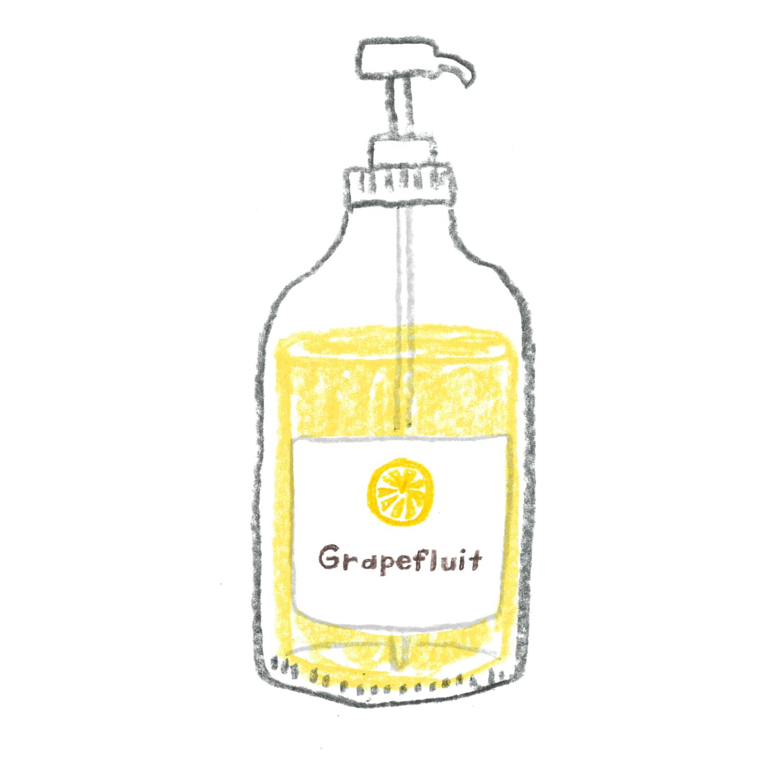 A:グレープフルーツの香り