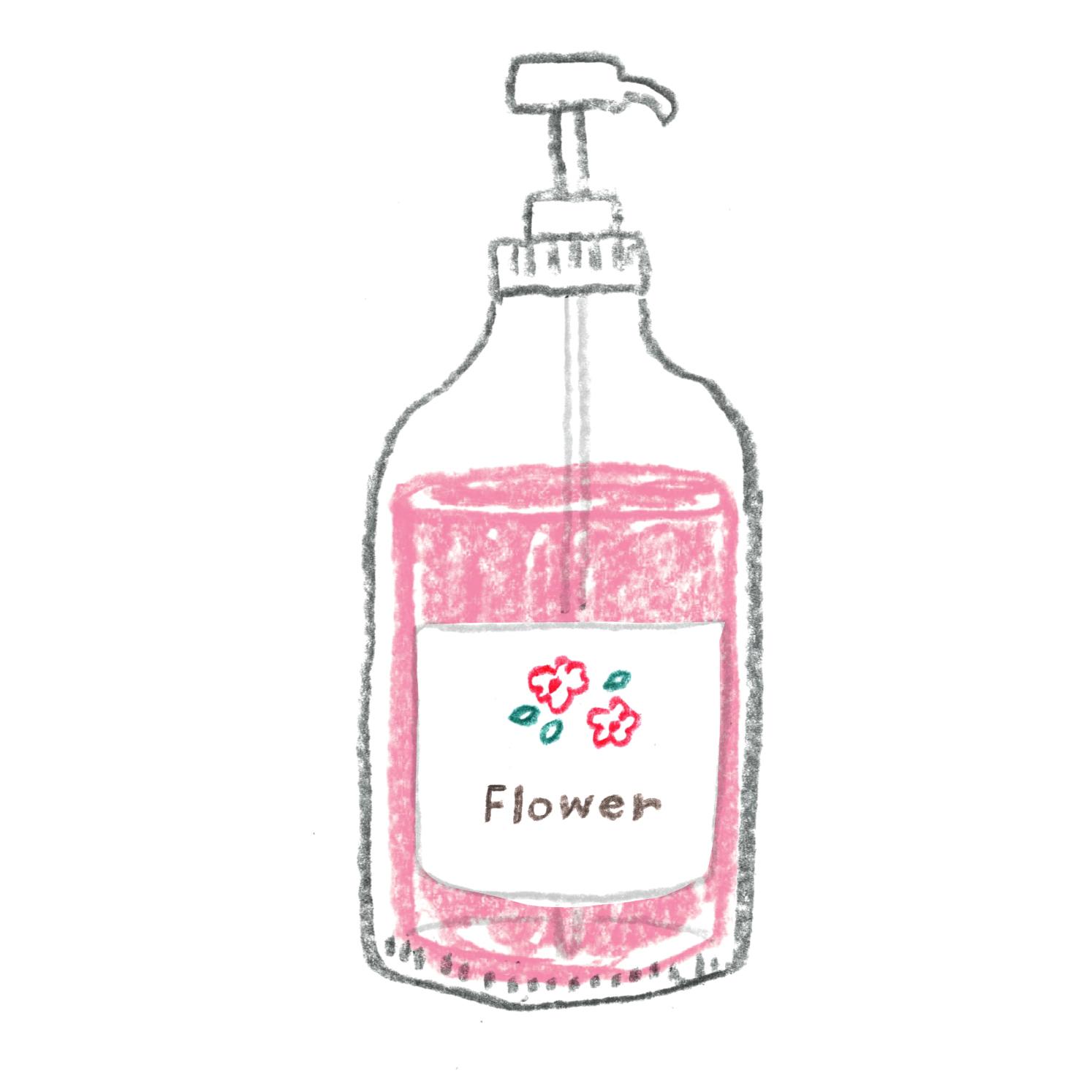 D:お花の香り