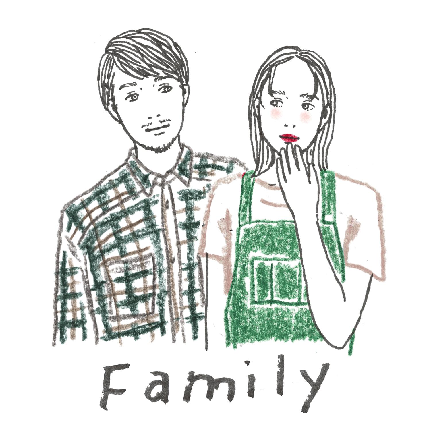 B:家族の話