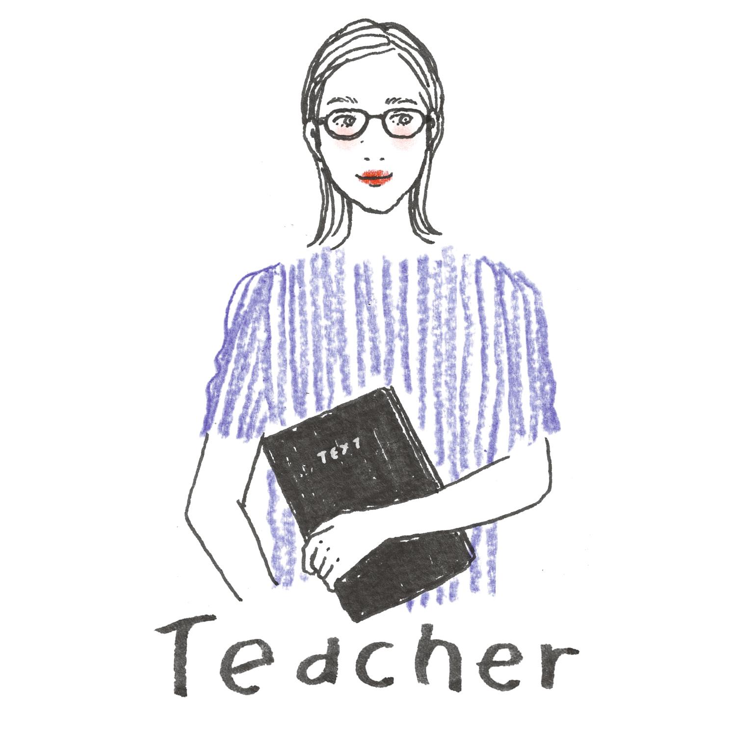 D:学校の先生の話