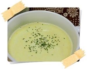 冷凍枝豆が余ったら♪枝豆のポタージュスープ