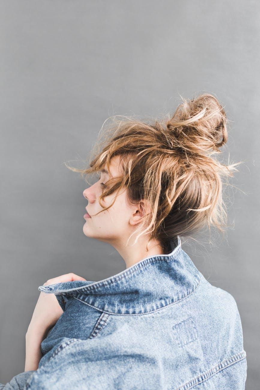 髪の毛を結ぶだけでおしゃれのSTEP UP