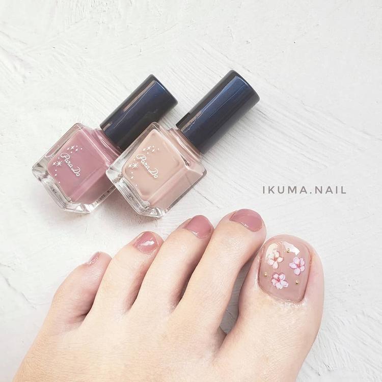 春らしいピンク×桜のデザイン