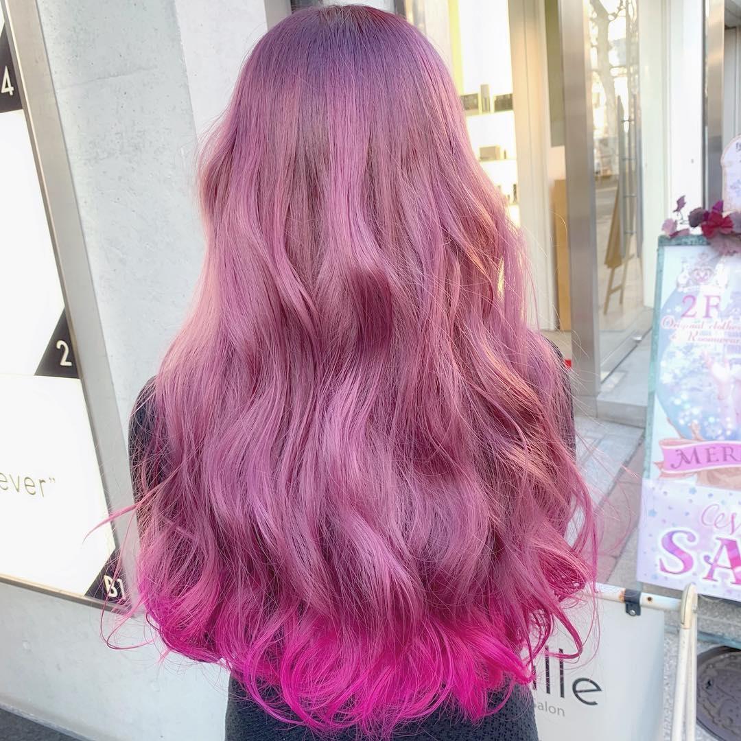 どのピンクヘアが好み?