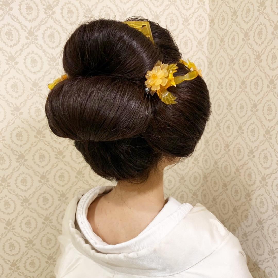 新日本髪×べっ甲かんざし