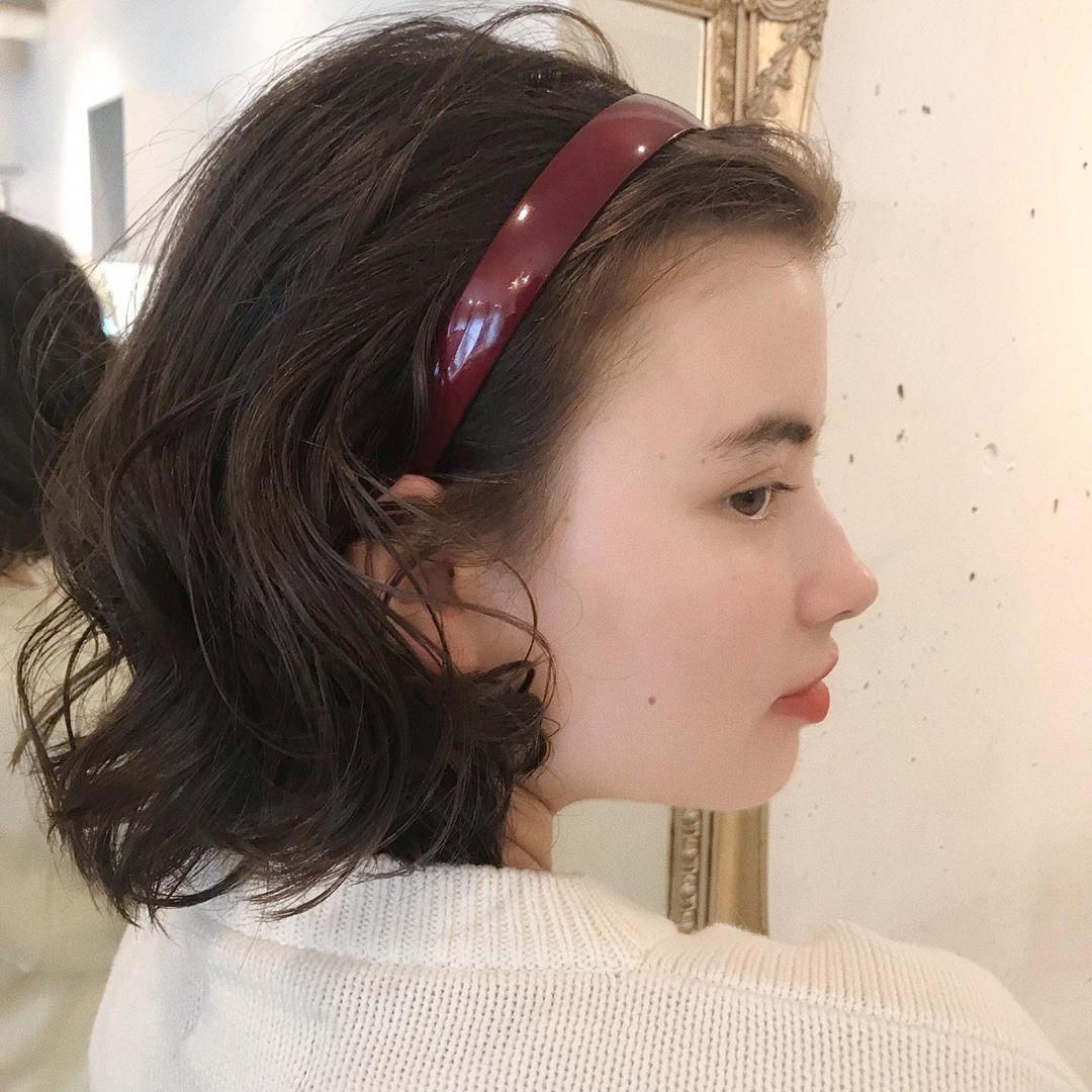 ボブヘア|ふわふわの巻き髪をさらに可愛く