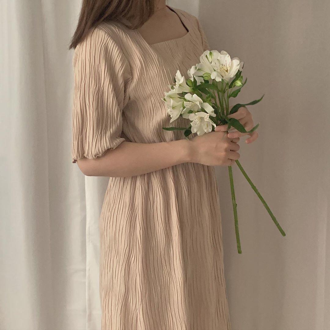 艶やかなNatural dress
