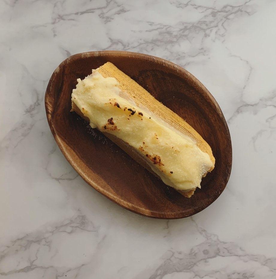 アレンジ2:クリームチーズがけ