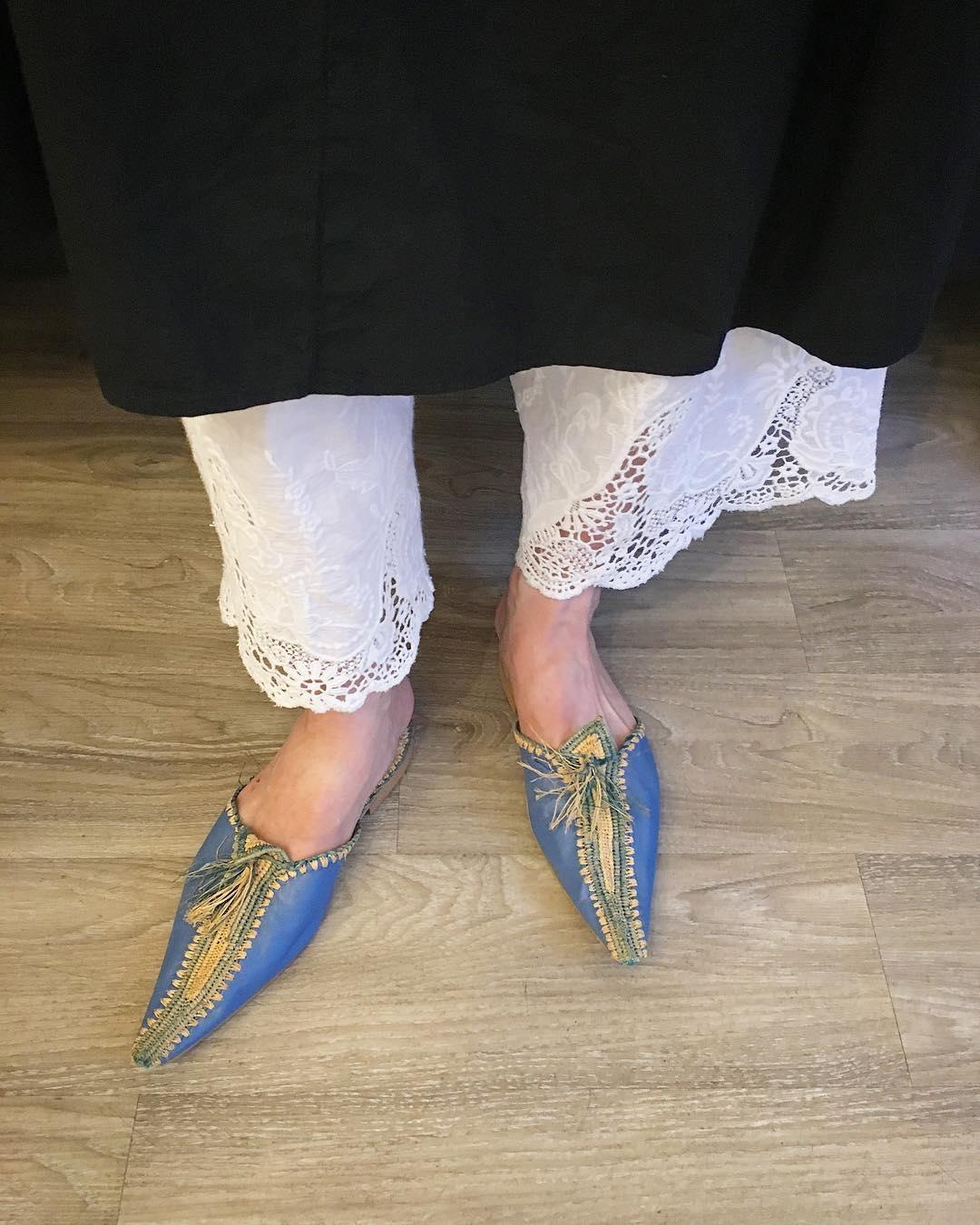 shoes…モロッコサンダル(バブーシュ)