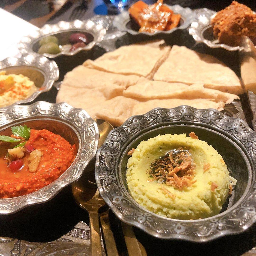 地中海・アラビア料理:CARVAAN TOKYO
