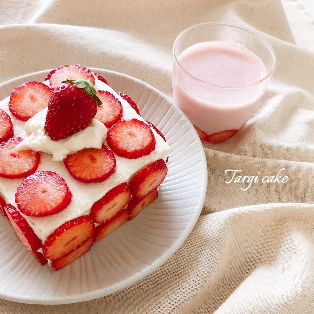 話題の #タルギケーキ が気になります