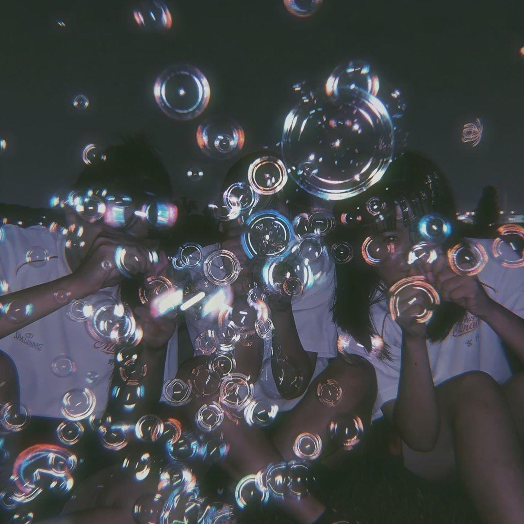 シャボン玉の泡のように、儚い時間