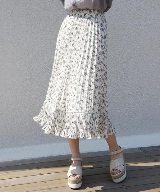 アソ―トプリーツスカート