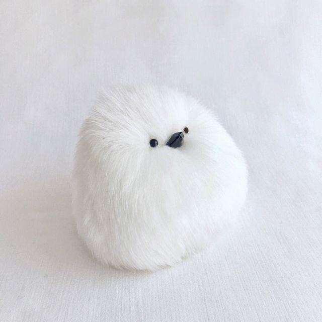 もっふもふな鳥に癒やされる♡真っ白でつぶらな瞳が可愛いシマエナガグッズたち