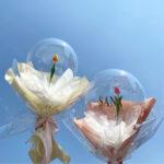 """風船に花と気持ちを閉じ込めて。大切なあの人へサプライズで贈る""""フラワーバルーン"""""""