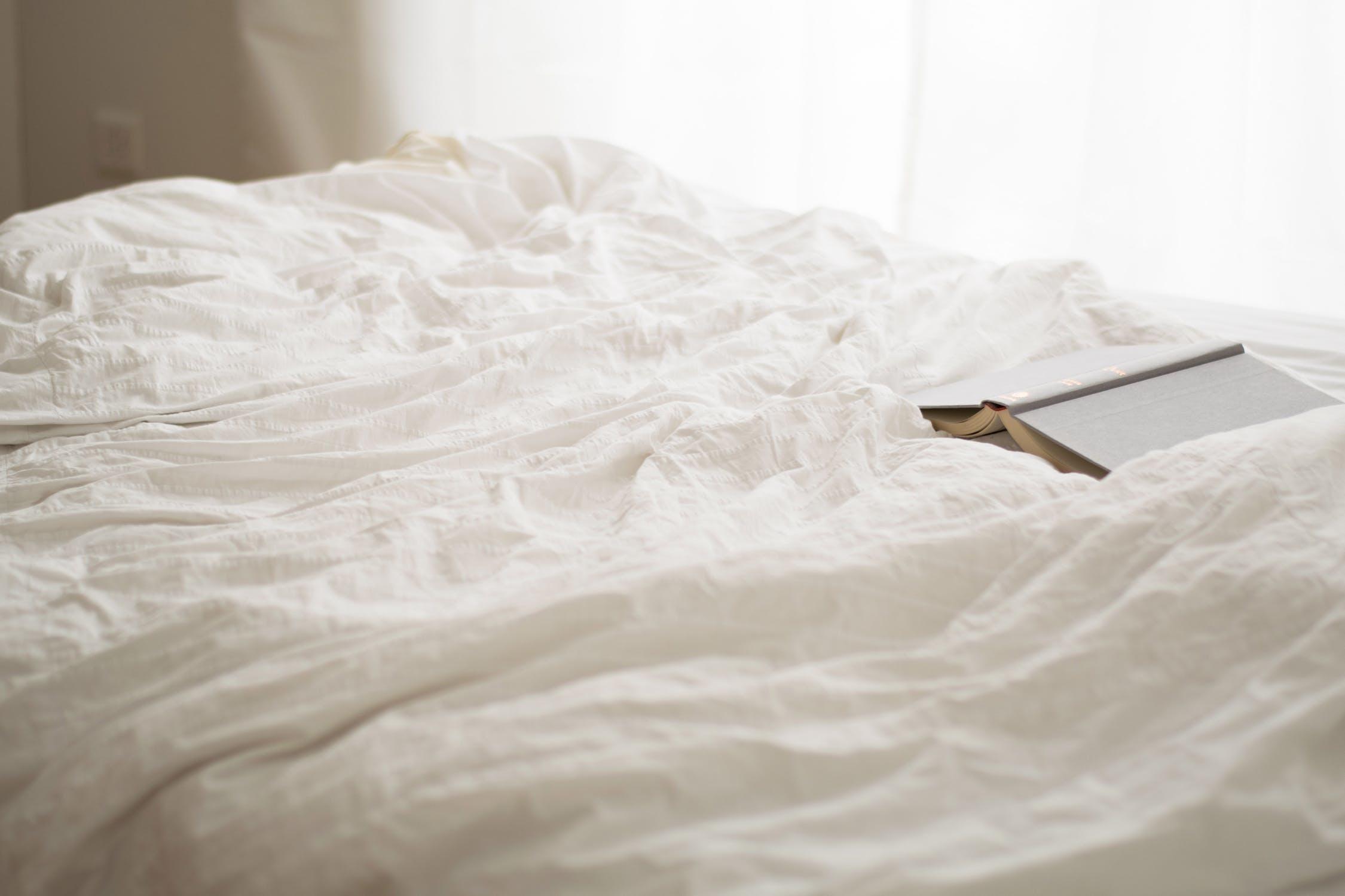 目覚ましを設定しないで寝られるのは最高!