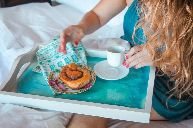 breakfast in bed…♡
