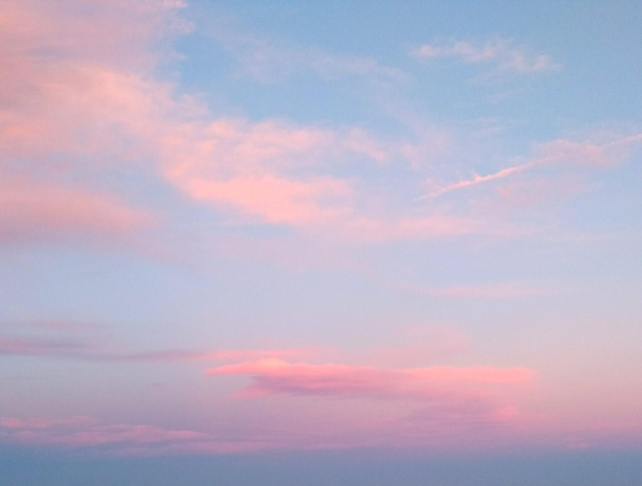 案4 当日の綺麗な空を、記念にパシャリ