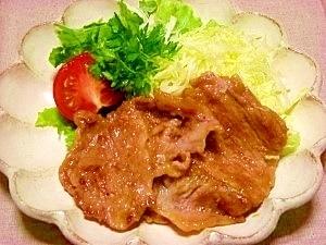 軟らか☆豚の生姜焼き