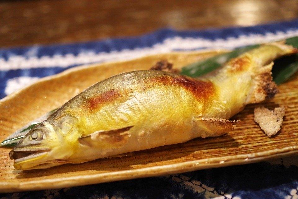 少し大きめの焼き魚