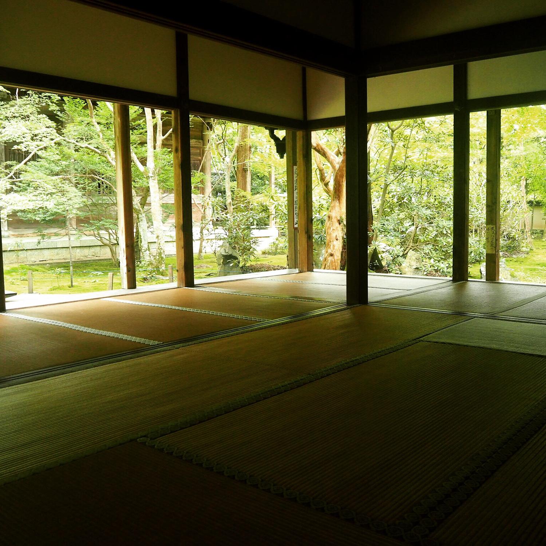 お寺で座禅体験