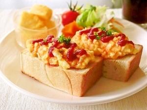 超簡単 名古屋のモーニング定番 卵トースト
