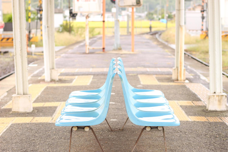待ち合わせは、駅のホームで。