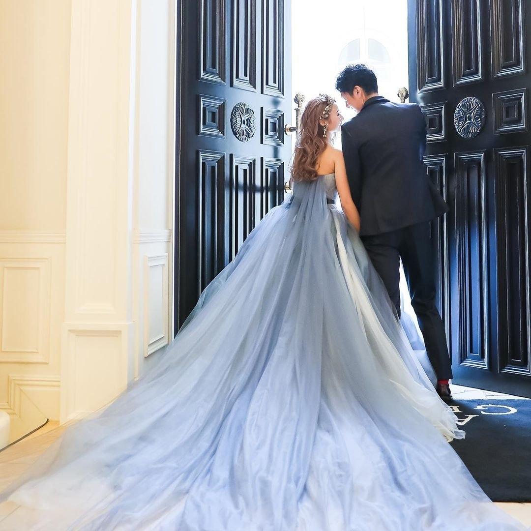 ブライダルフェアで結婚式をイメージして