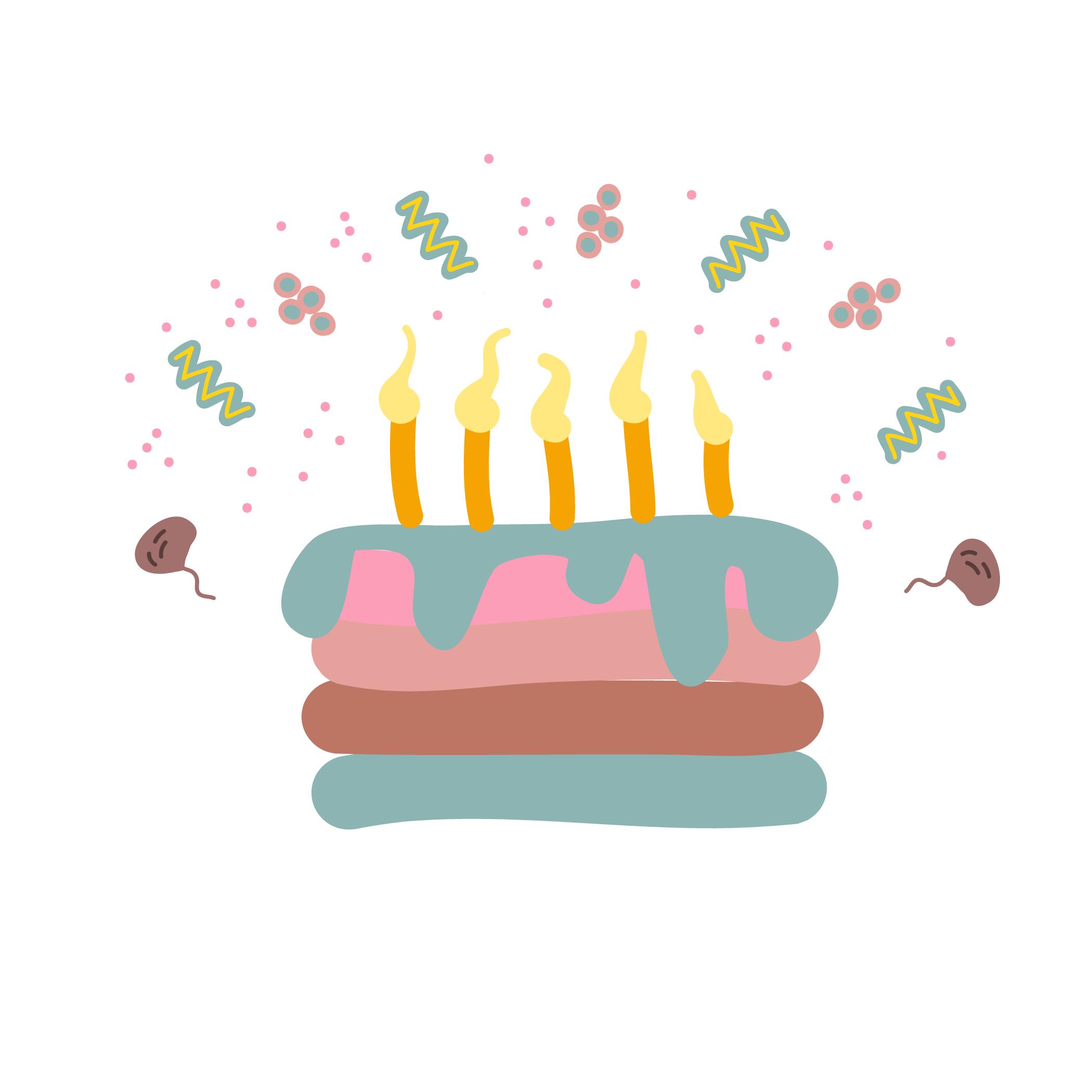 「ふ~」と炎を消すのは誕生日の特権