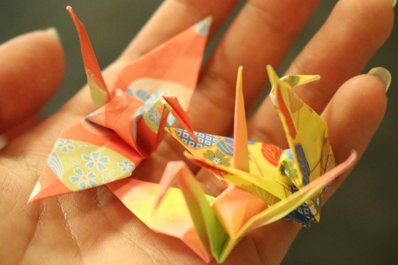 誰もが作ったことのある、折り鶴