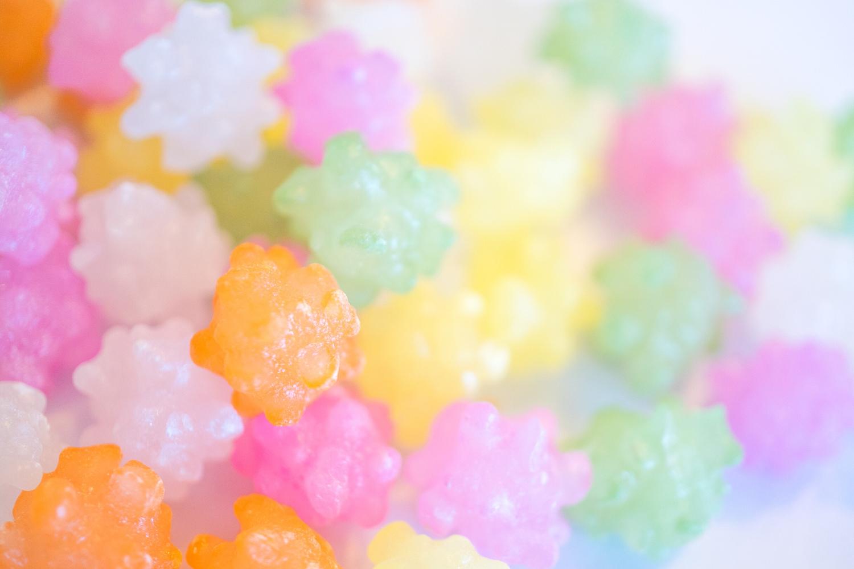 駄菓子屋さんの宝石、金平糖