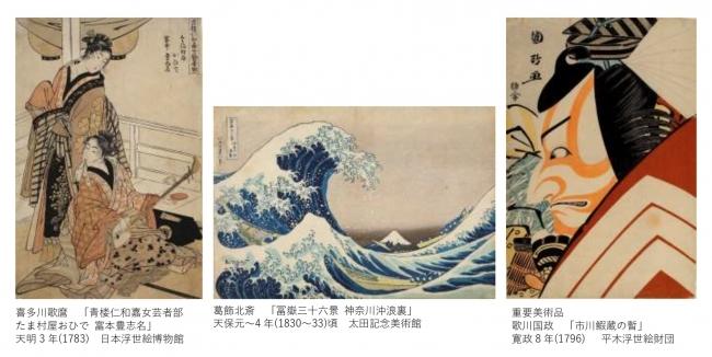 日本三大浮世絵コレクションが上野に集結!