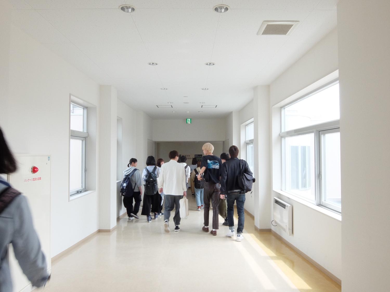 校内でひたすら写真撮影