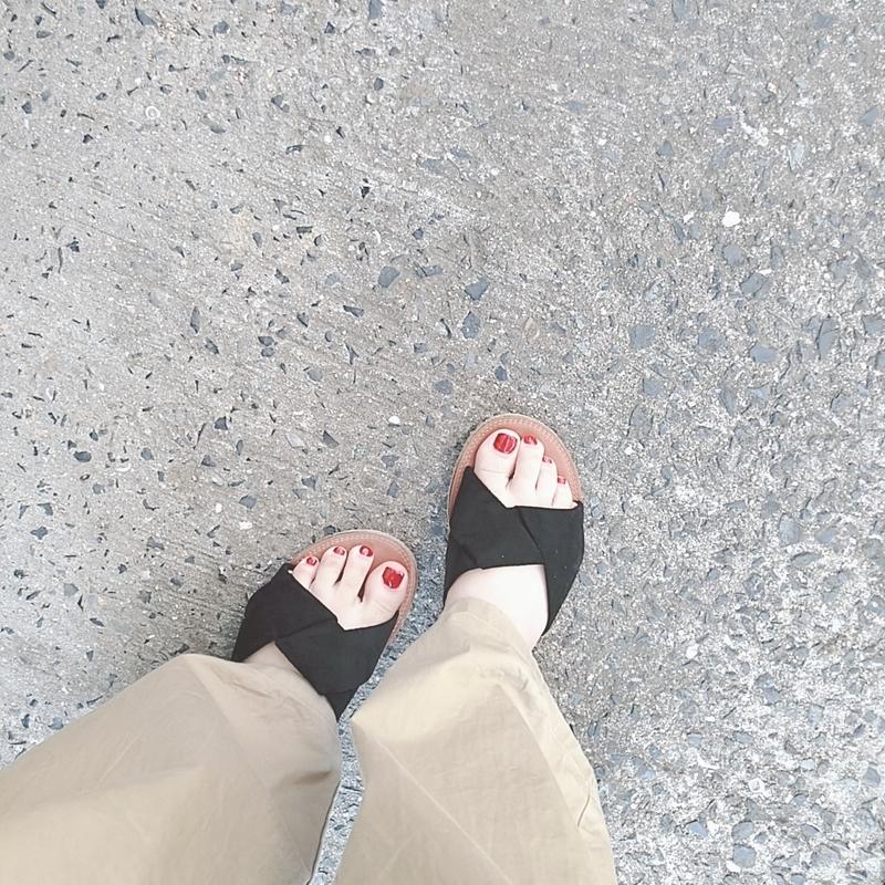 自分の足の形を知る