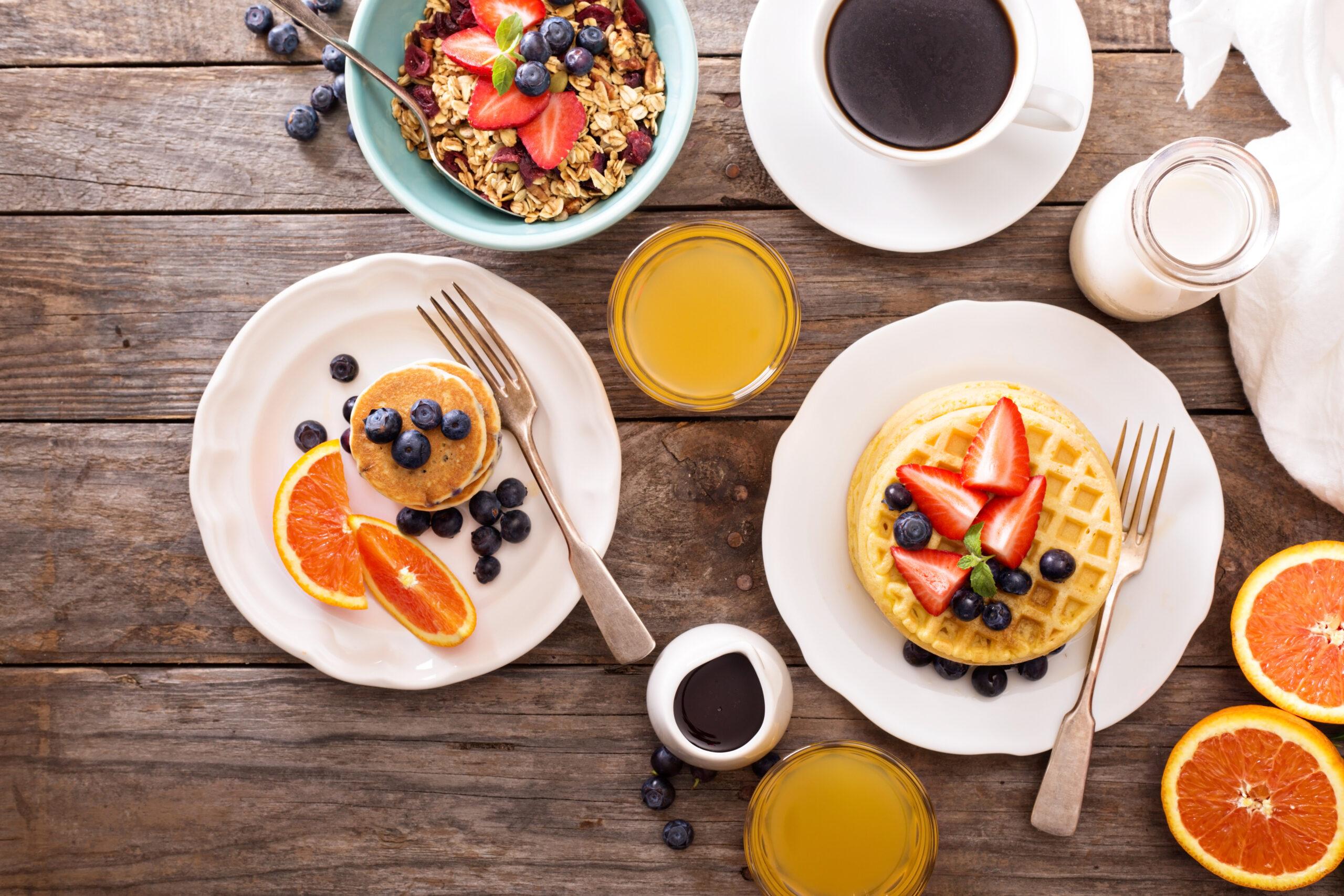 ちょっと頑張ってお洒落な朝食