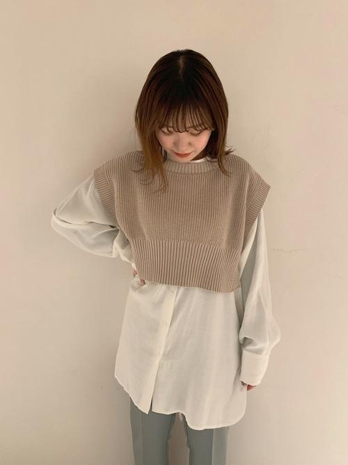 3|着まわしのパターンが豊富