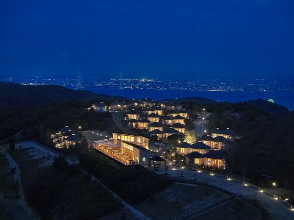 星降る丘で光り輝く夜を