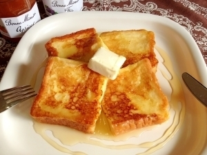 プリンのような☆フレンチトースト