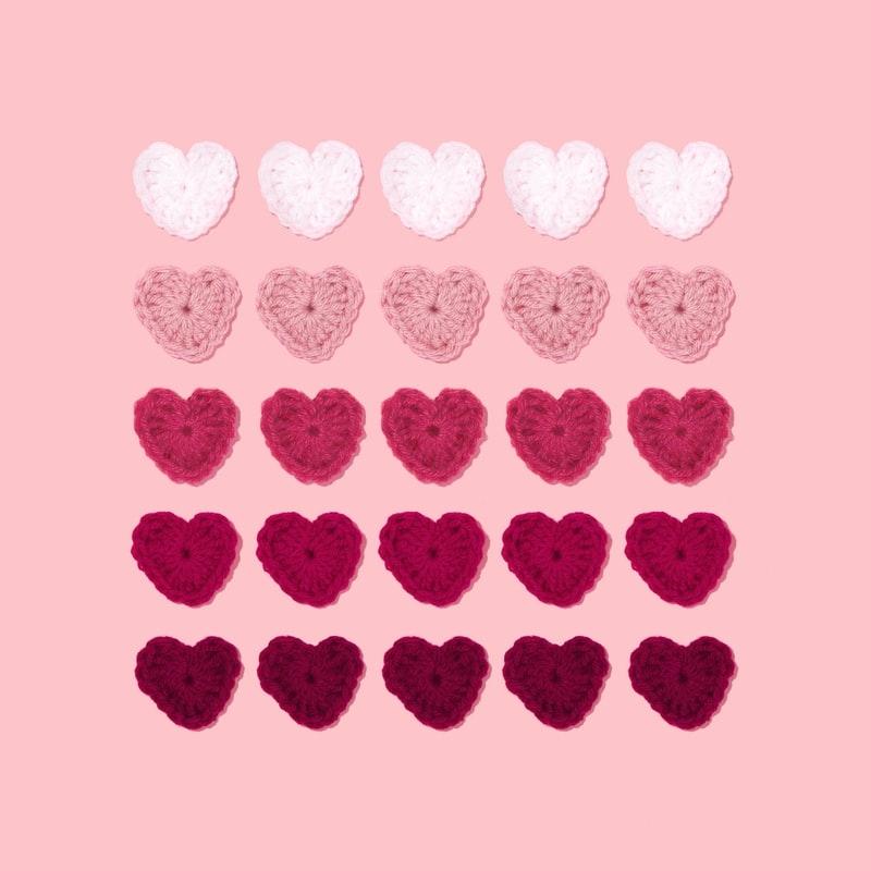恋愛運よ、来い→ピンク