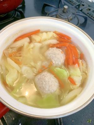 朝ラク☆肉団子スープ☆スープジャー