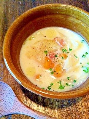 野菜のミルクスープ
