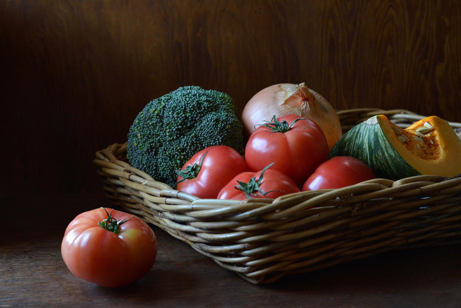 3 農家から野菜を仕入れる