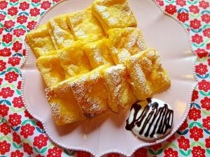 トースターで放置。カフェ気分のフレンチトースト☆