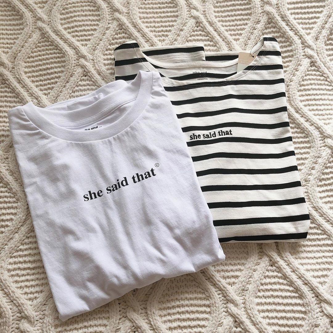大人っぽく「Tシャツ」を着こなして