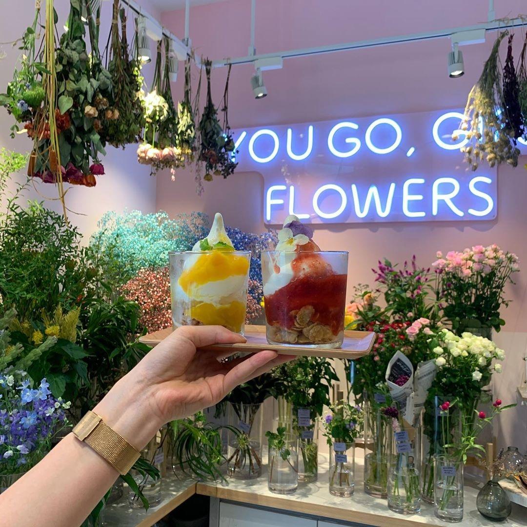 お花に囲まれた幸せ空間を堪能しよ?♡