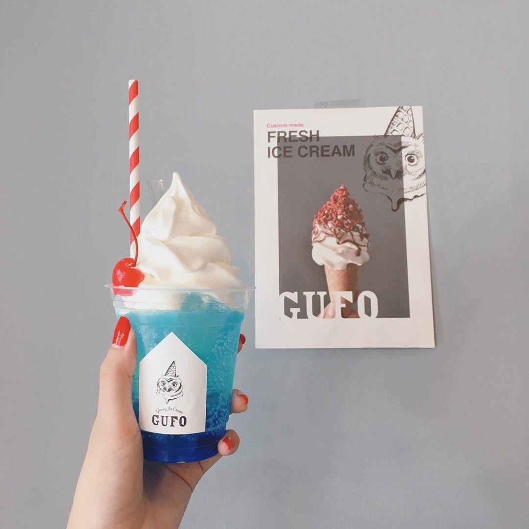 夏色のクリームソーダ