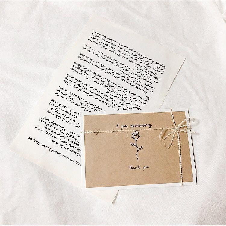 お手紙を添えて嬉しさをプラス