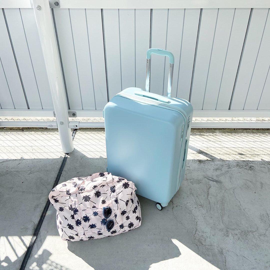スーツケースに楽しみいっぱい詰め込もう♡