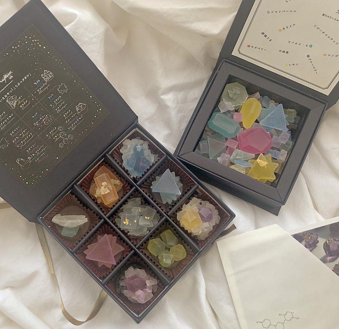 □キラキラ輝く宝石箱