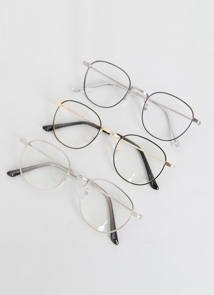 [bullang girls] ウェリントンフレーム眼鏡